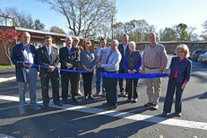 Fairhaven Housing Authority parking lot gets facelift
