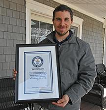Fairhaven man breaks Guinness World Record