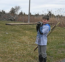 Winter temps don't scare away beach clean-up volunteers