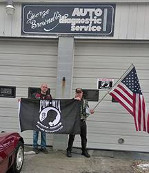 POW-MIA flag on 50-state tour, stops in Fairhaven