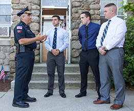 Acushnet welcomes three new police officers
