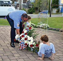 Acushnet remembers 9-11, and those lost to drugs, too
