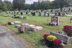 Gravestones vandalized at Acushnet cemetery