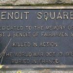 100 year anniversary of Benoit Square namesake