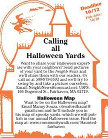Calling all  Halloween Yards