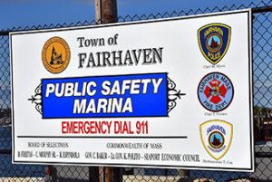 Lt. Gov. cuts ribbon for Public Safety Marina at Union Wharf