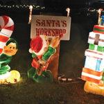 Santa visits Acushnet for annual lighting & sing-along