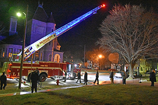 Fairhaven's new ladder truck is state of the art