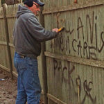 Owners thank community for support after racist graffiti