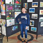 EHMS student Brooke Boucher in Project 351 ambassador