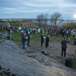 Rain holds off for annual Easter sunrise service