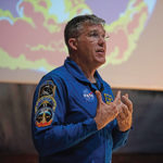 Astronaut talks about his time aboard International Space station