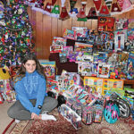 Middle School student goes all out for Toys 4 Tots