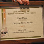 Neighb News photographer takes two at NENPA awards Banquet