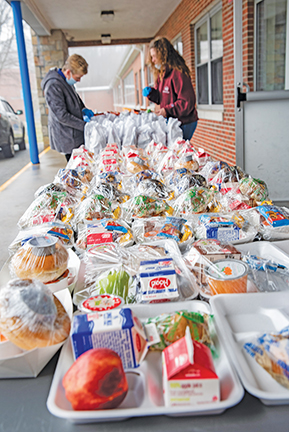 """""""Grab 'n Go"""" meals help students and families during crisis"""