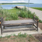 Matthew Lovegrove memorial bench vandalized