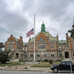 Flags fly at half staff in honor of 9/11 victims