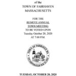 Town Meeting held for second night to finish up