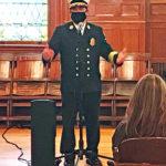 Todd Correia sworn in as Fairhaven Fire Chief
