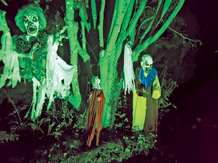 Follow the Halloween Trail…if you dare