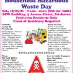 Fairhaven Hazardous Waste Day